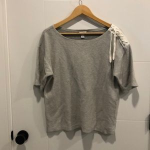 Nautica short sleeve knit top size large